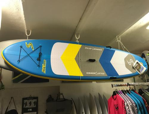 Tavola Sup Gonfiabile Simmer Makana (windsurf compatible) 10'6″ – € 699 (-30%)