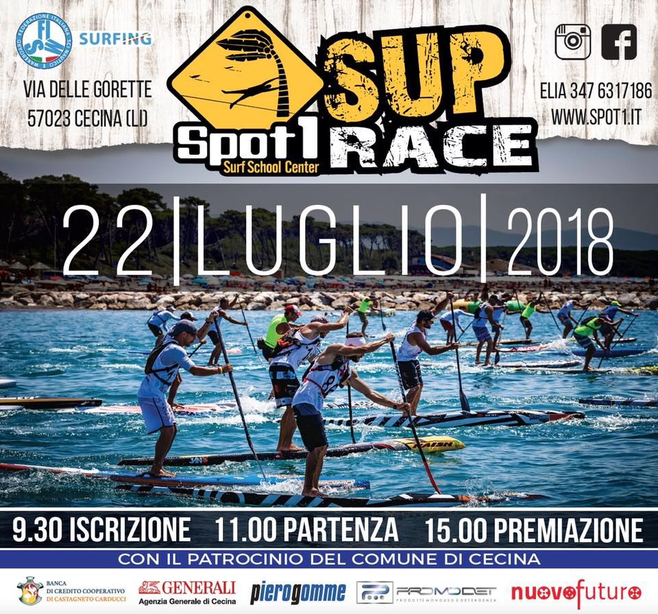 Calasunday + Spot 1 Sup Race
