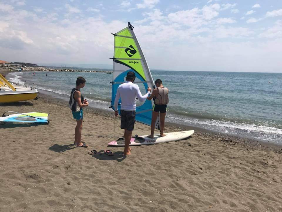 Istruttore windsurf